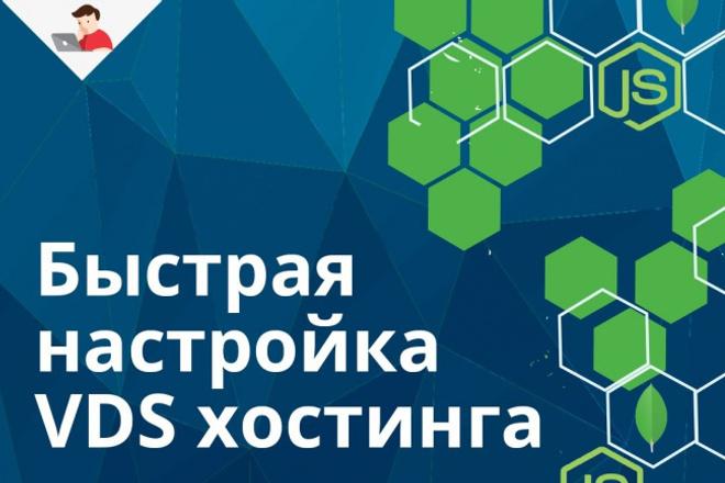 Настройка VDS сервера 1 - kwork.ru