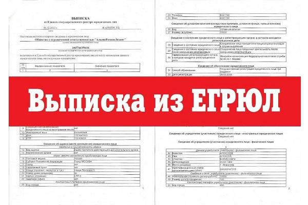 Получение выписки из ЕГРЮЛ и ЕГРП с электронно-цифровой подписью 1 - kwork.ru
