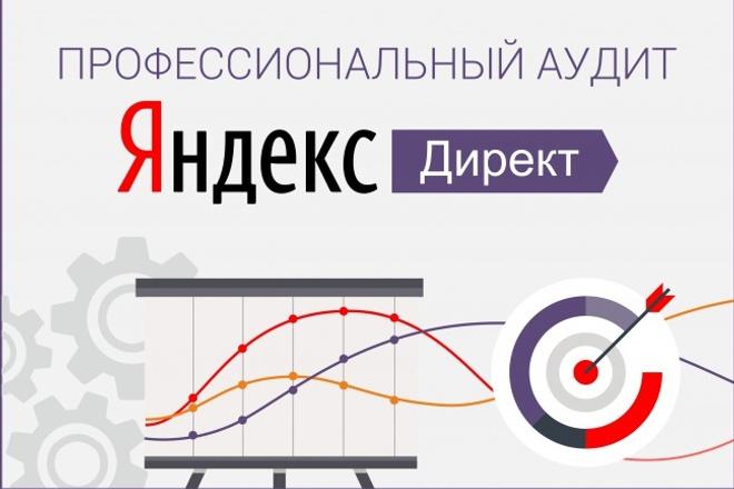 Аудит рекламных кампаний в системе яндекс директ 1 - kwork.ru