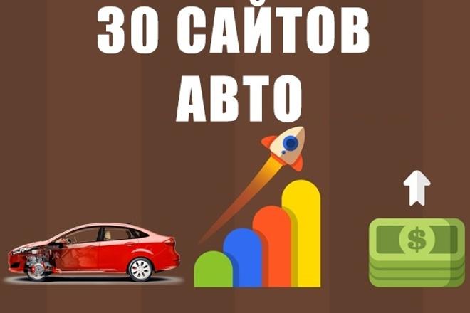 30 ссылок на трастовых сайтах тематики авто 1 - kwork.ru