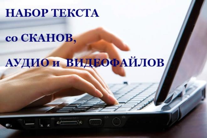 Расшифровка аудио- и видео файлов 1 - kwork.ru