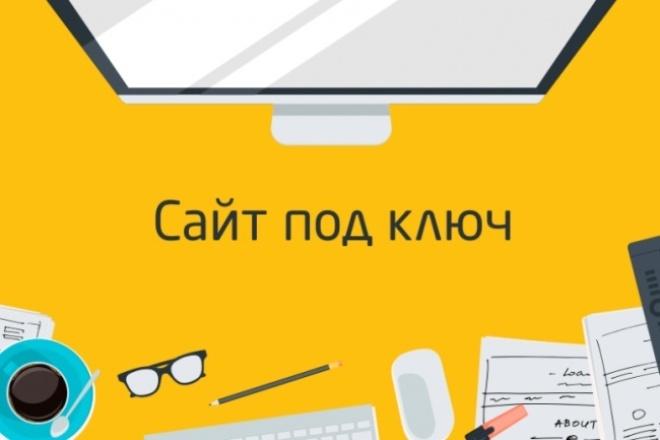 Скопирую, сделаю сайт под ключ 1 - kwork.ru