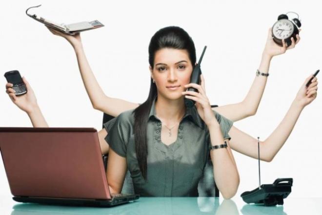 Освободите себя от скучной работыПерсональный помощник<br>Заняты более важными делами, чем создание презентаций или таблиц в эксэле? Теперь это не проблема. Сбросьте на меня всю рутинную работу, и занимайтесь тем что вам на самом деле необходимо. Исполню любые пожелания не требующие особых профессиональных навыков. Работа с презентациями, таблицами, редактура текста, регистрация на ресурсах.<br>