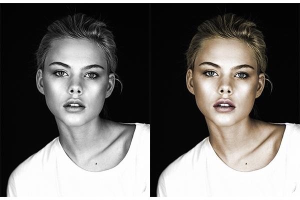 Сделаю раскраску для 5 черно-белых фотографий 1 - kwork.ru