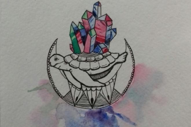 Эскиз для татуИллюстрации и рисунки<br>Нарисую эскиз для тату любой сложности, рисую в основном чб эскизы. Если собрались делать заказ, то сразу опишите свою идею, желательно примеры других тату/эскизов, чтобы было легче ориентироваться. Также срисовываю эскизы с фото, тату etc. Все вопросы в лс.<br>