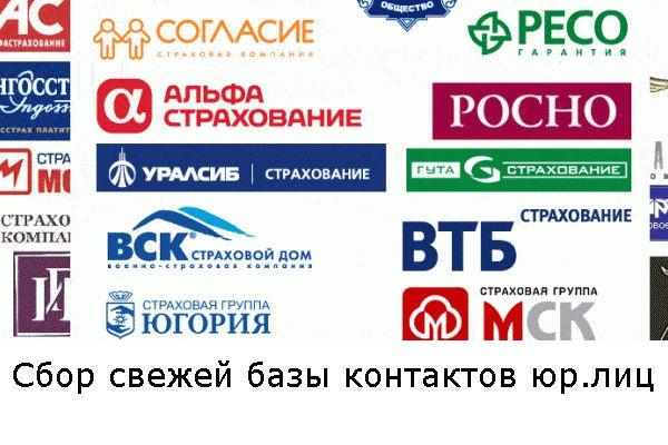 Соберу базу компаний,  фирм и предприятий из открытых источников 1 - kwork.ru