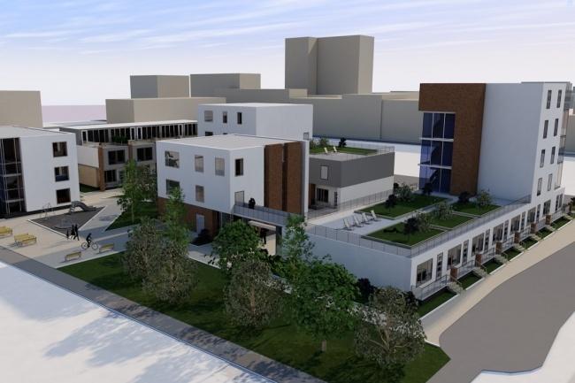 Построю 3D модель вашего здания и создам визуализацию в ArchiCAD 1 - kwork.ru
