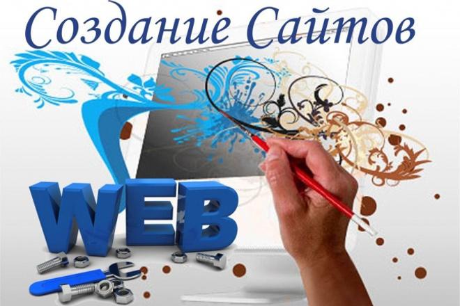 Установлю,настрою сайт на WordPress+месяц хостинга бесплатно 1 - kwork.ru