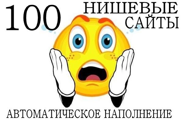 100 автонаполняемых нишевых сайтов под трафик и продвижение 12 - kwork.ru