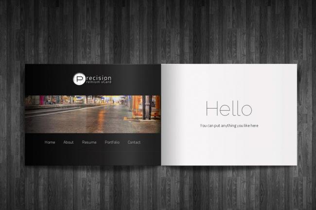 Сделаю красивый сайт-визитку 1 - kwork.ru