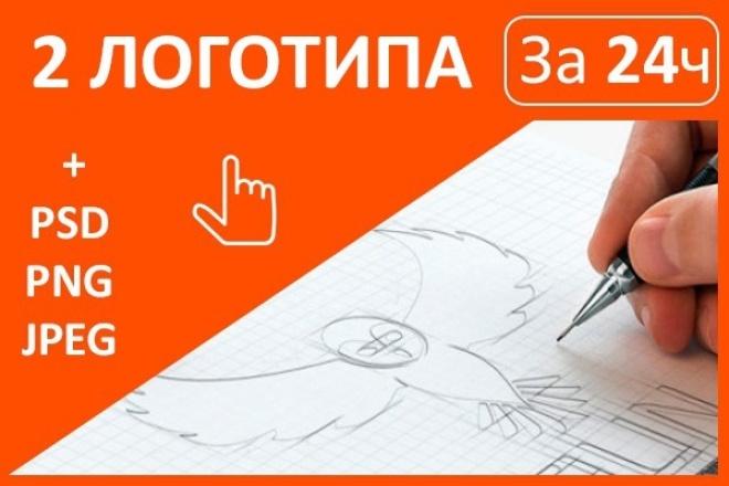 Разработаю  2 цветных лого 1 - kwork.ru