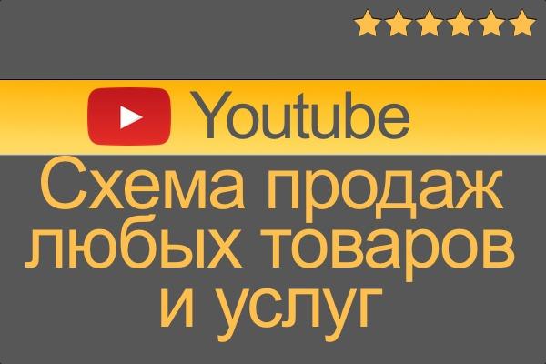 Научу продавать любые товары и услуги через  youtube 1 - kwork.ru