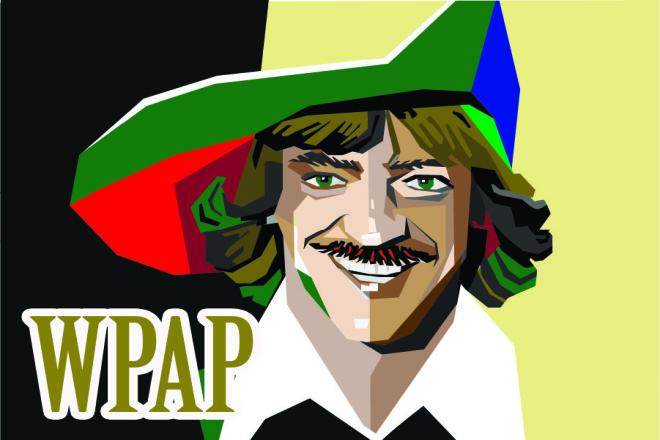 WPAP-портрет по вашему фото 1 - kwork.ru