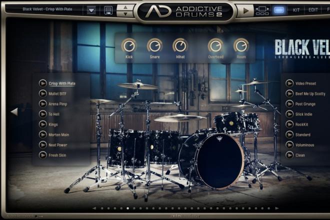 создам midi дорожку барабанов 1 - kwork.ru
