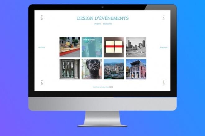 Сделаю дизайн сайта (PSD) 1 - kwork.ru