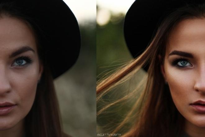 Отретуширую фотоОбработка изображений<br>Сделаю красоту из всего! прыщики убегут, а круги под глазами сольются с кожей :))Делаю цветокоррекцию и ретушь кожи, зарисовываю лишние детали на фото.<br>
