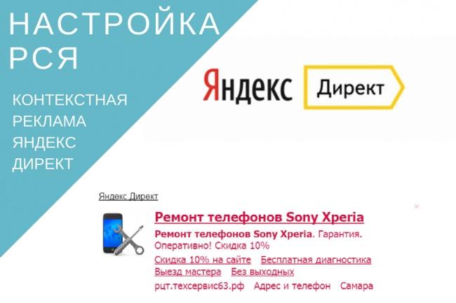 Настрою рекламную кампанию на РСЯ 1 - kwork.ru