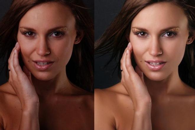 Профессионально обработаю вашу фотографиюОбработка изображений<br>Выполню профессиональную обработку фотографии - кадрирование - удаление дефектов кожи (с сохранением текстуры) - корректировка светотени - цвето-/светокоррекция; - добавление контрасности; - добавление резкости;<br>