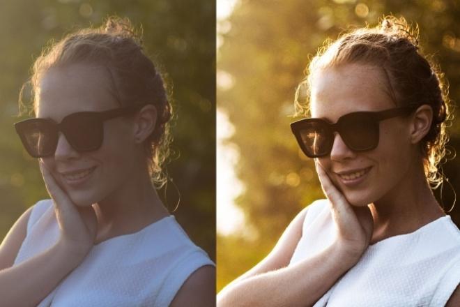 хорошо обработаю ваше фото 1 - kwork.ru