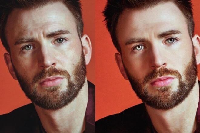 Обработаю фотоОбработка изображений<br>Обработаю фото, пример ниже. Изменение размера, улучшение качества изображения, обрезка, ретушь лица и так далее.<br>