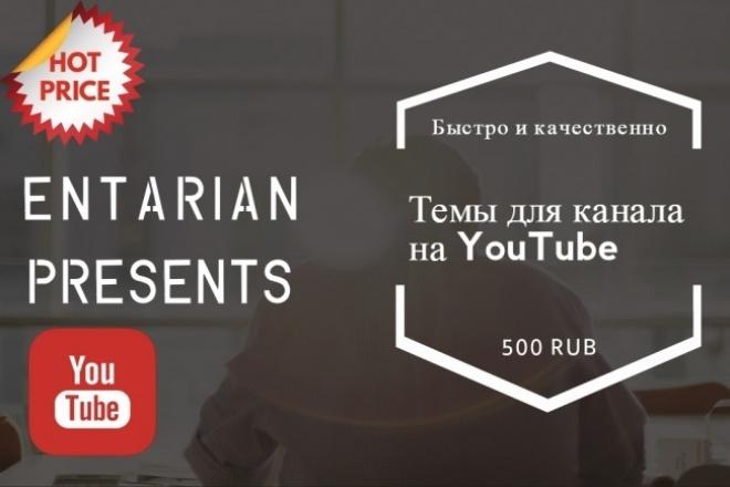 Тема для канала на YouTube 1 - kwork.ru