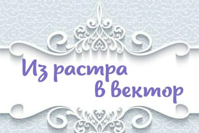 Отрисовка в векторе, формат CorelDraw, по рисунку, cканированию 1 - kwork.ru