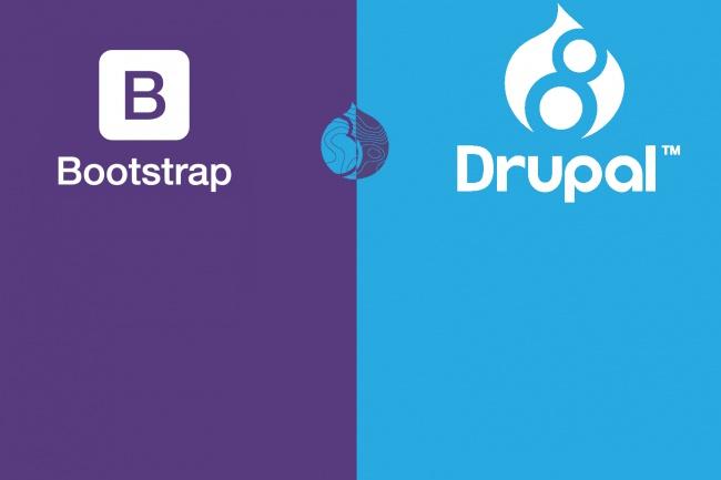 Создам тему для Drupal 8 на основе Bootstrap 1 - kwork.ru