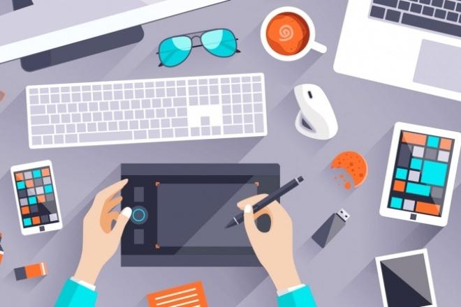 Создам уникальный дизайн страницыВеб-дизайн<br>Дизайн определенного блока или целой страницы сайта. Часто встречаются примеры сайтов, когда вроде бы все нормально, но бросаются в глаза не стандартизированные и не умелые добавления шрифтов, цветов и элементов. Дизайн основывается на ваших предпочтениях или примерах. Стандартизирую отступы, цвета и расположение элементов.<br>