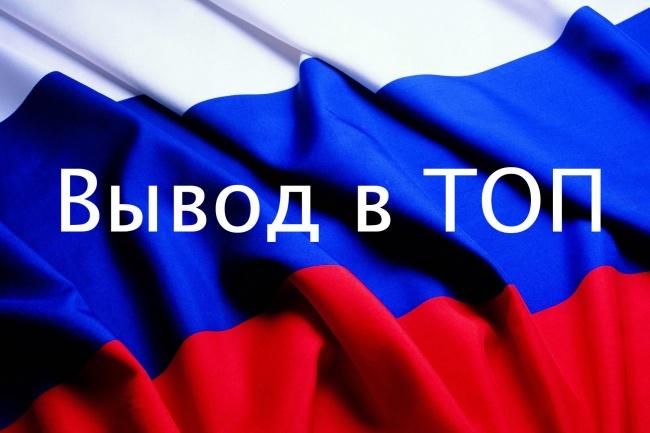 Ваша статья с вечной ссылкой на трастовых сайтах 1 - kwork.ru
