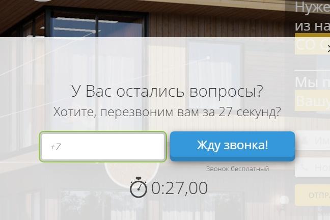 Установлю на сайт онлайн звонок 1 - kwork.ru