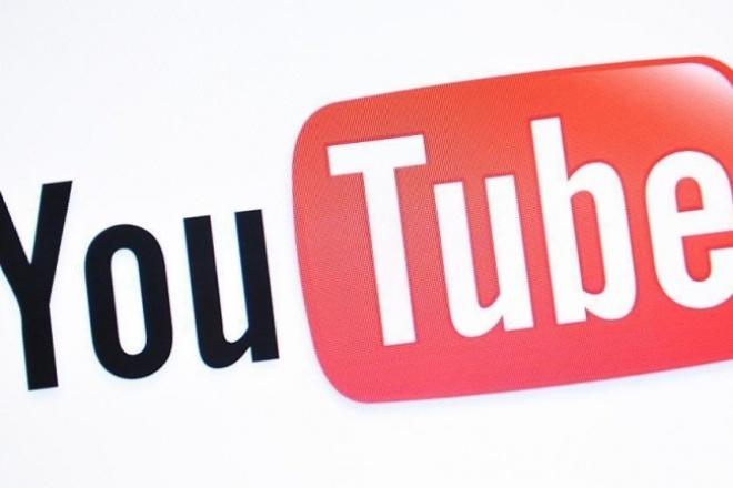 Помогу оформить канал на YouTube c нуля 1 - kwork.ru