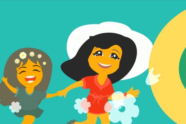 Интро для детской передачи или каналаИнтро и анимация логотипа<br>Создам интро для детского канала ютуб с Вашим брендом/названием/логотипом как на примере в видеоролике.<br>