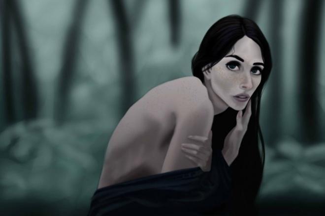 Нарисую портретИллюстрации и рисунки<br>У меня вы можете заказать цифровой портрет одного человекаи в хорошем качестве для себя или близких. По желанию представлены дополнительные опции к одному заказу.<br>