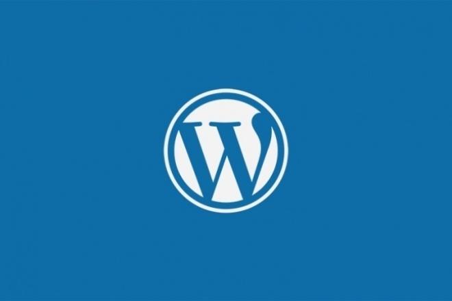Правки WordPress 1 - kwork.ru