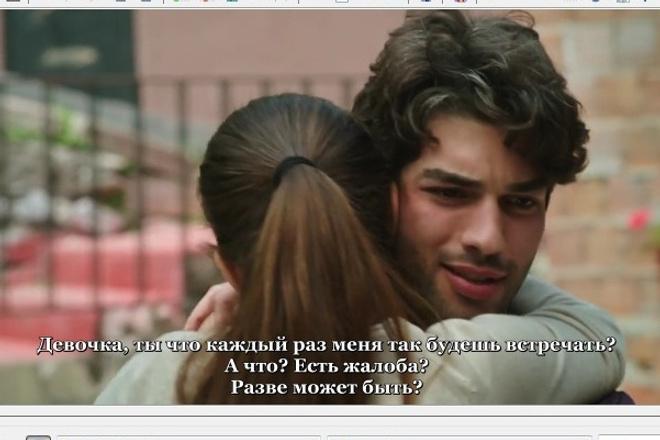 Субтитры для вашего видео, либо отдельно тайминг 1 - kwork.ru