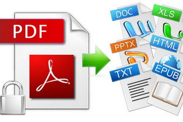 Конвертация файлов PDF, извлечение текстов и картинок 1 - kwork.ru