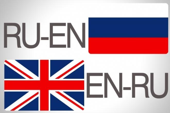выполню литературный перевод с английского/на английский 1 - kwork.ru