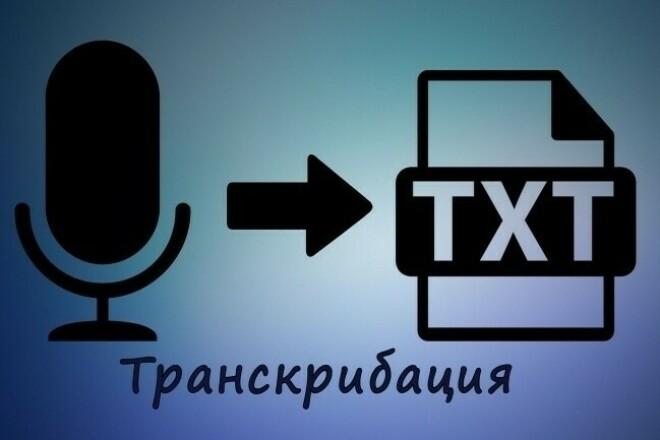 Сделаю транскрибацию видео 1 - kwork.ru