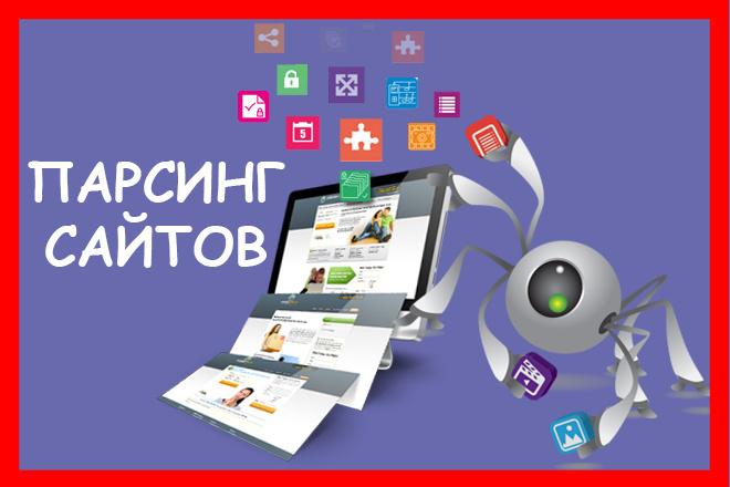 Парсинг любой информации. Товары, файлы, изображения 1 - kwork.ru