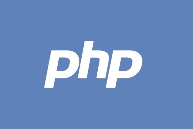 напишу с нуля скрипт на PHP 1 - kwork.ru