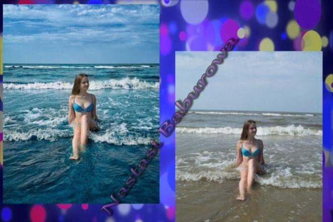 Сделаю цветокоррекцию 2х фотоОбработка изображений<br>в работу входит обработка двух фотографий: яркость, резкость, цветокоррекция, замена цвета по отдельности, если это необходимо<br>
