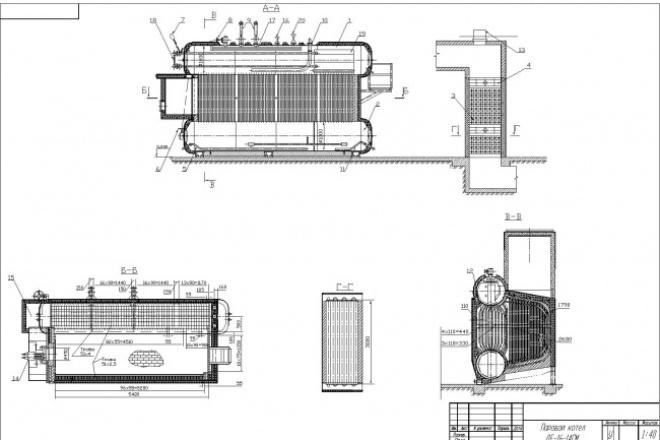 Перечерчу ваш чертеж в программе AutoCAD 1 - kwork.ru