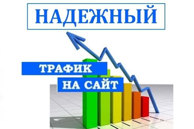20 000 посетителей на ваш сайт 1 - kwork.ru