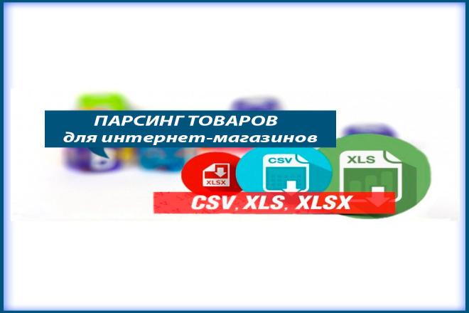 Сделаю парсинг товаров с популярных площадок и любых ваших источников 1 - kwork.ru