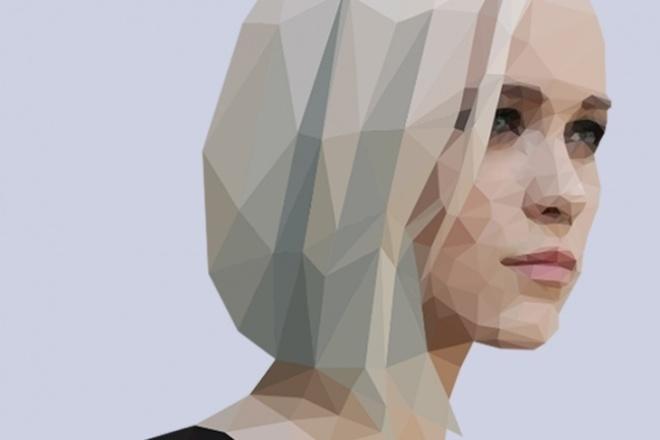 Сделаю красивый poly art 1 - kwork.ru