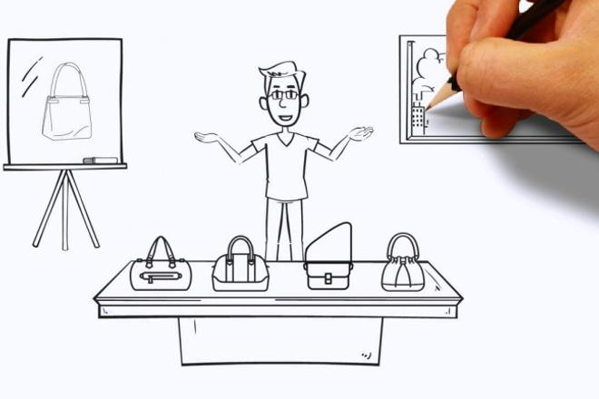 сделаю рекламный ролик в стиле дудл-видео 1 - kwork.ru
