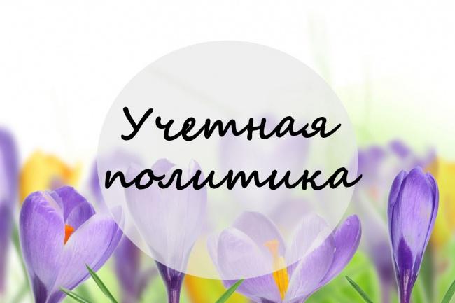 составлю учетную политику 1 - kwork.ru