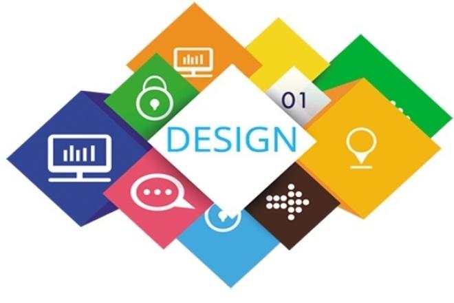 Дизайн сайта из psd шаблона 1 - kwork.ru