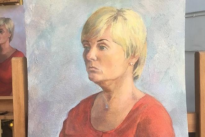 Напишу портрет маслом по фото 1 - kwork.ru