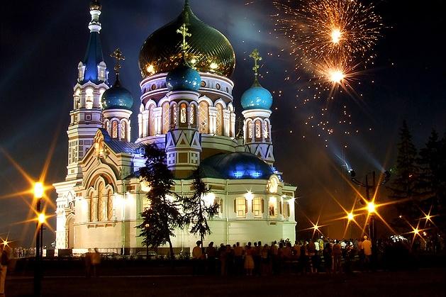 Отправлю открытку из Омска с интересующей вас архитектурой или пейзажа 1 - kwork.ru
